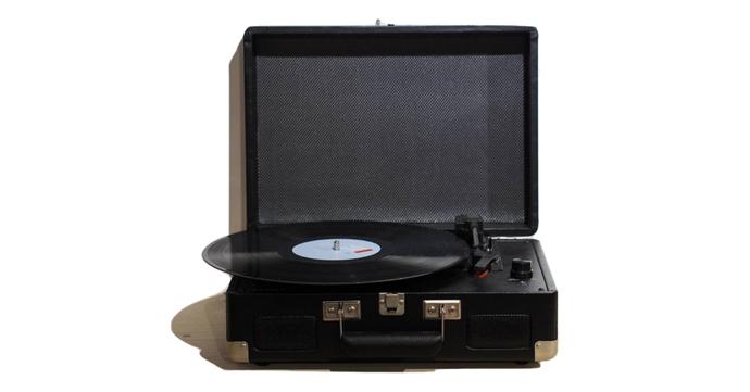 Platine vinyle portable Crosley. A partir de €170.