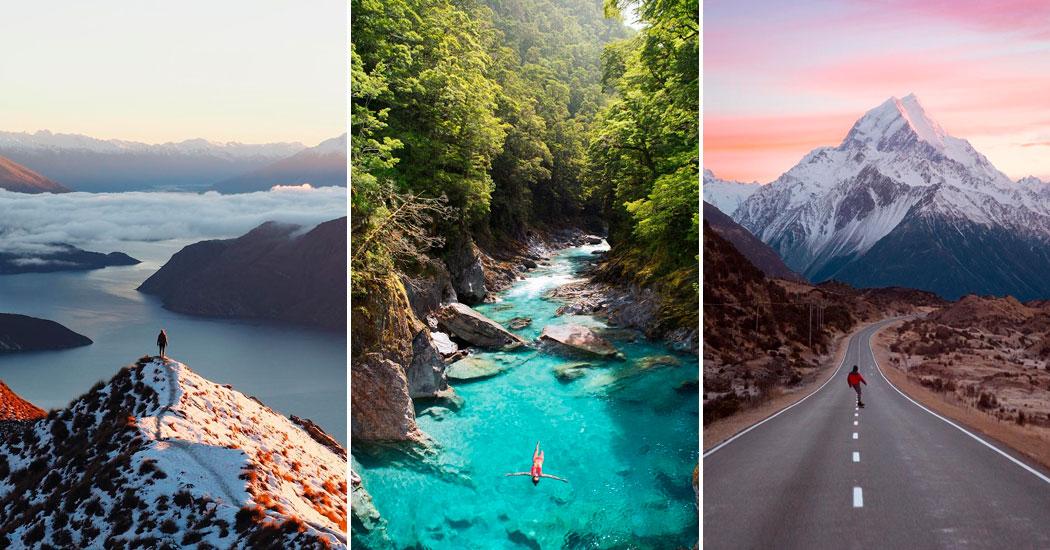 Nouvelle Zélande Photo: Zoom Sur 10 Des Lieux Les Plus Incroyables De Nouvelle