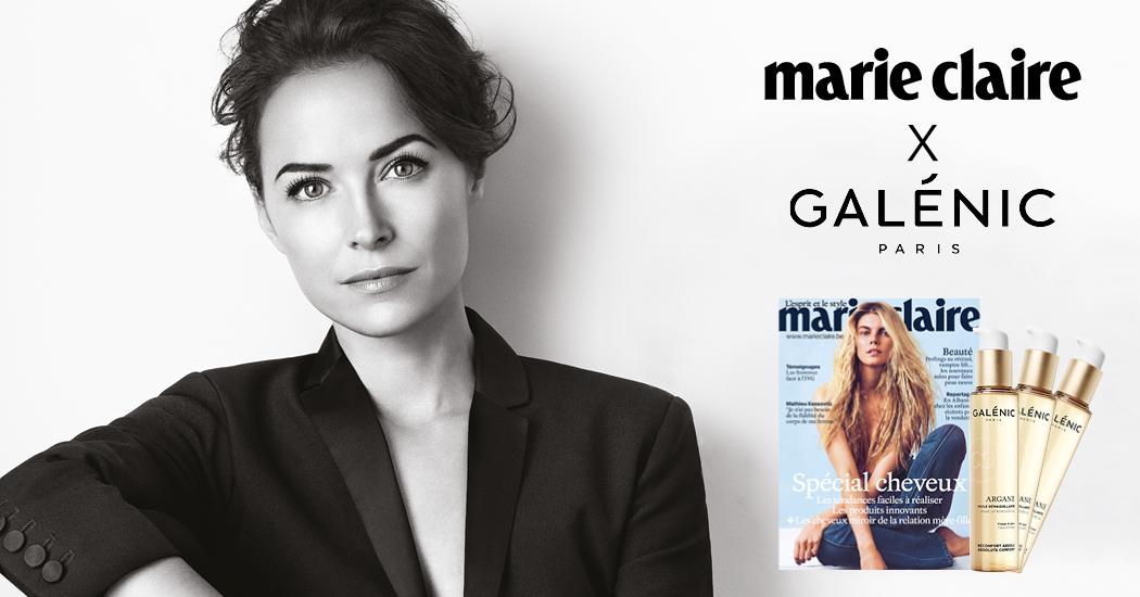 Marie claire Belgique Galénic