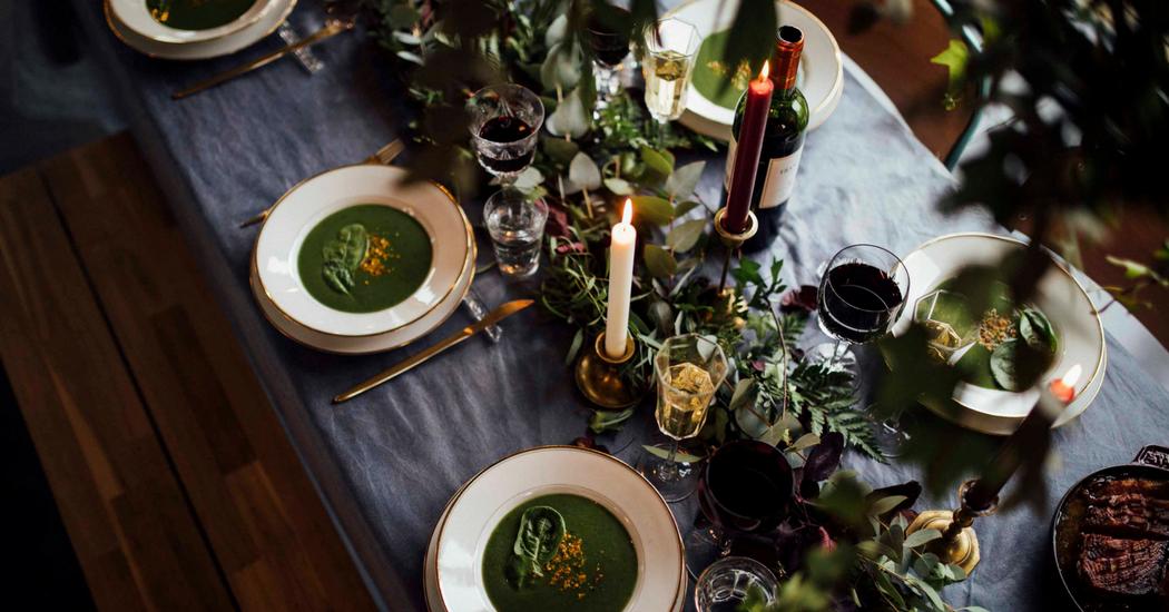 Décoration de Noël table de Noël fêtes repas de Noël