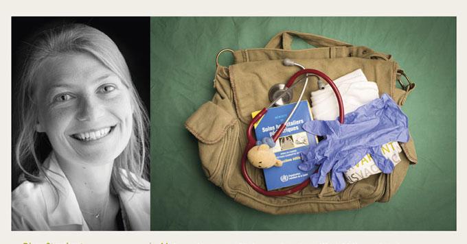Journée internationale des Volontaires 2017, Lieve Blancquaert, médecins sans vacances
