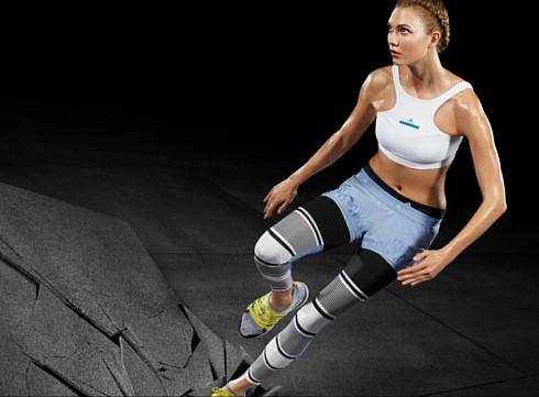 Karlie Kloss, l'égérie sportive Adidas by Stella McCartney