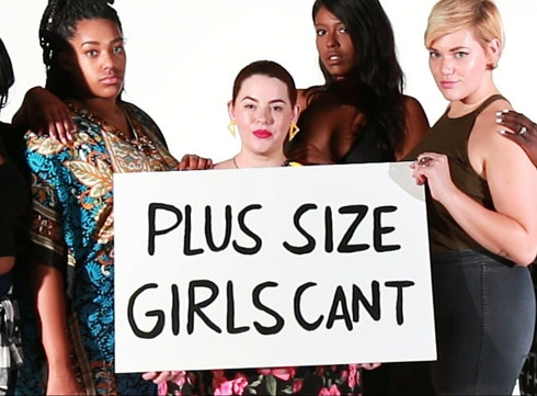 Les filles rondes ne peuvent pas …