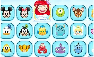 Le verdict: les emojis Disney