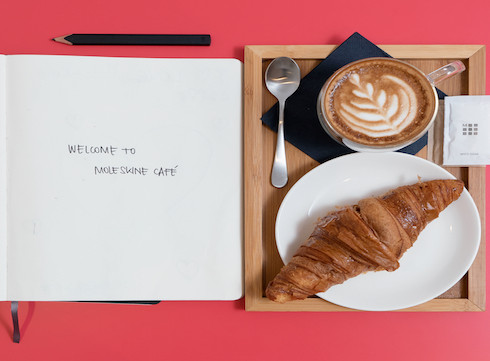 Wish-list : visiter le nouveau Moleskine cafe
