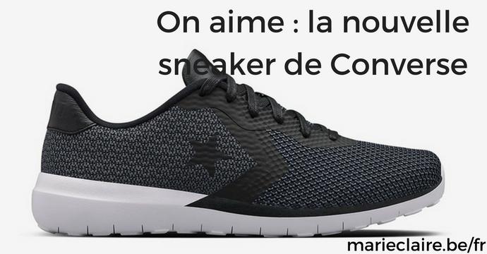 On aime _ la nouvelle sneaker de Converse