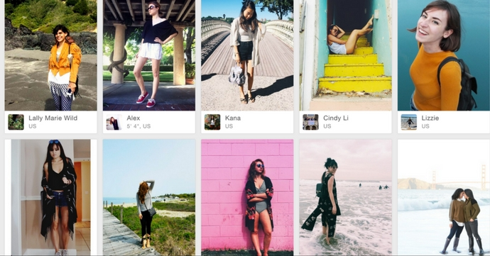 WEAR: l'app streetstyle des fashionistas