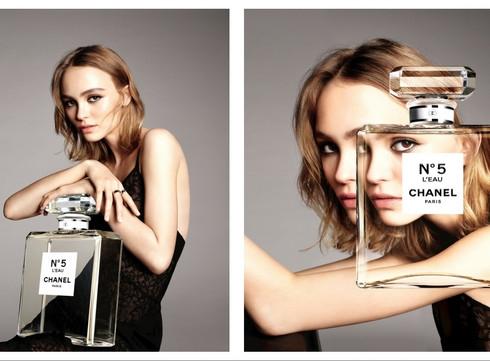 Chanel revisite N°5 en eau pour la nouvelle génération avec Lily-Rose Depp