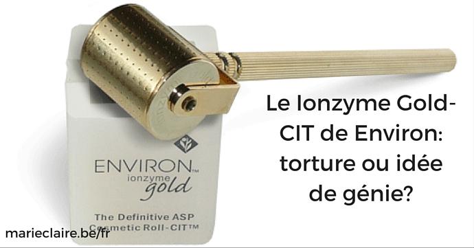 environ ionzyme gold CIT marie claire titre