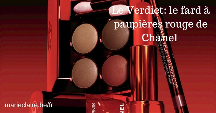 fard paupieres rouge chanel candeur experience marie claire