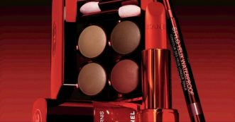 fard paupieres rouge chanel marie claire