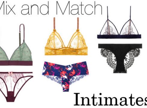Mix and match pour la lingerie