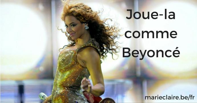 joue la comme Beyonce marie claire titre