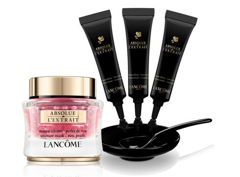 Coup de coeur: le sérum-en-masque ultime à la rose Absolue Extrait de Lancôme