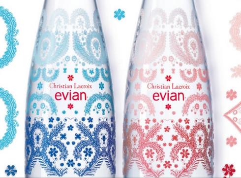 Christian Lacroix décore Evian