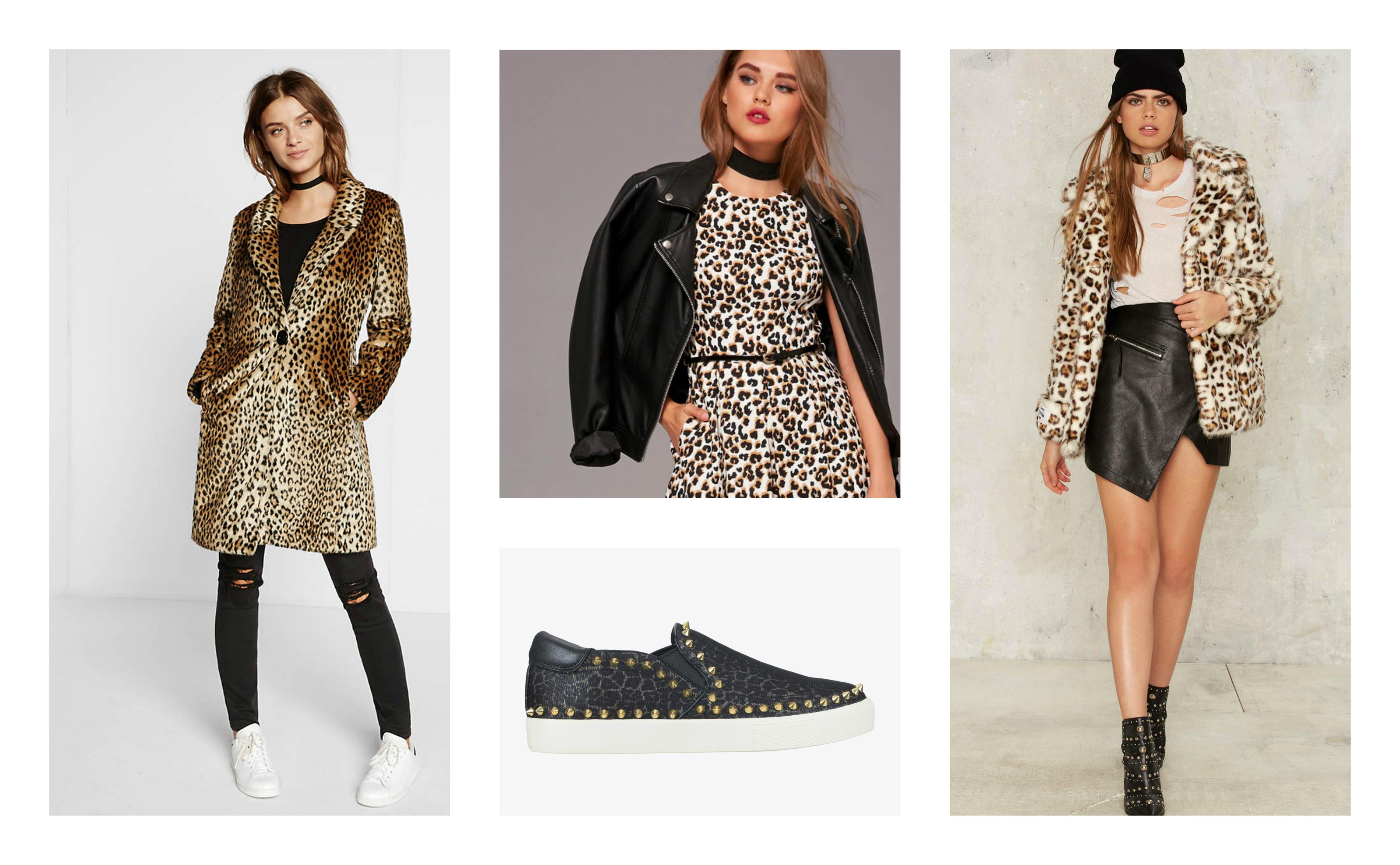 l'imprimé léopard on ose ou pas? tendance mode automne-hiver 2016