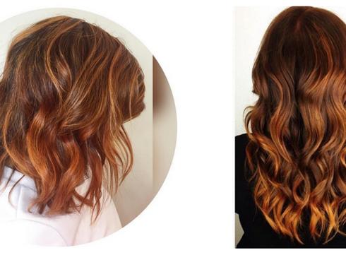 Les cheveux «pumpkin spice»: la couleur de l'automne?