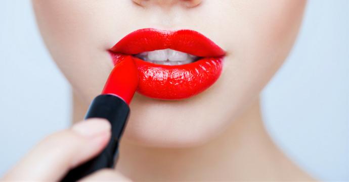 Ma semaine en rouge à lèvres carmin