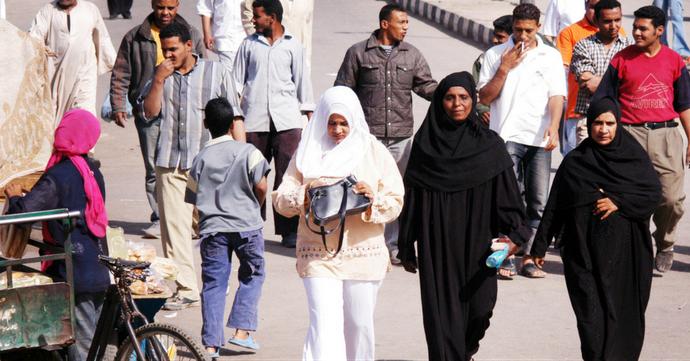 Egypte: vierge et diplômée