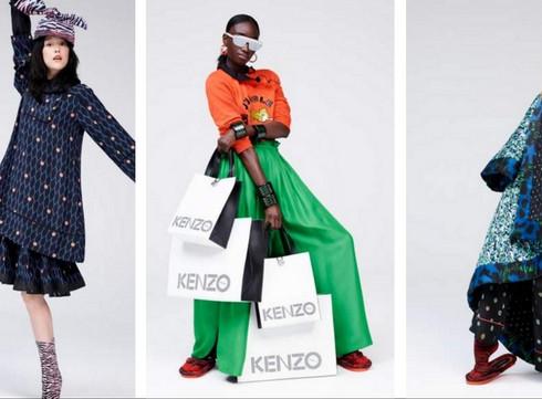 Kenzo x H&M: Préparez vos shopping lists!