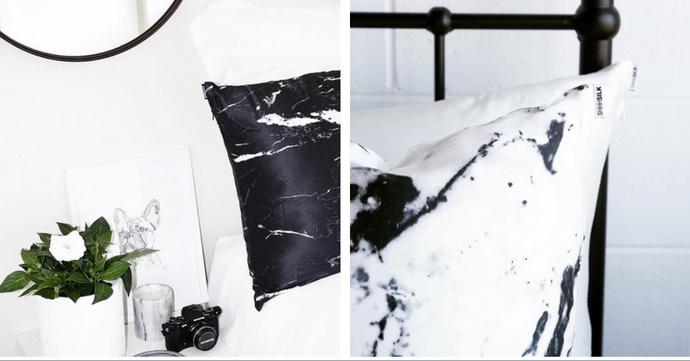 Coup de coeur: le coussin en soie de ShhhSilk