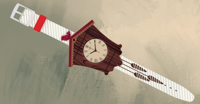 Crush of the Day: la montre coucou de Swatch