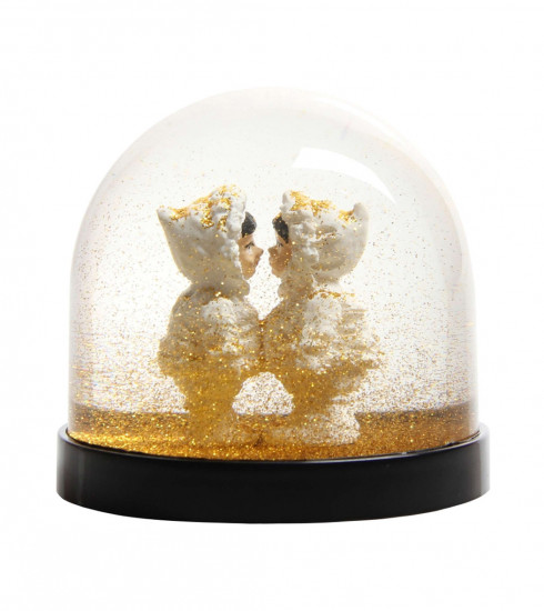 Crush of the Day: un globe de Noël 100% kitsch