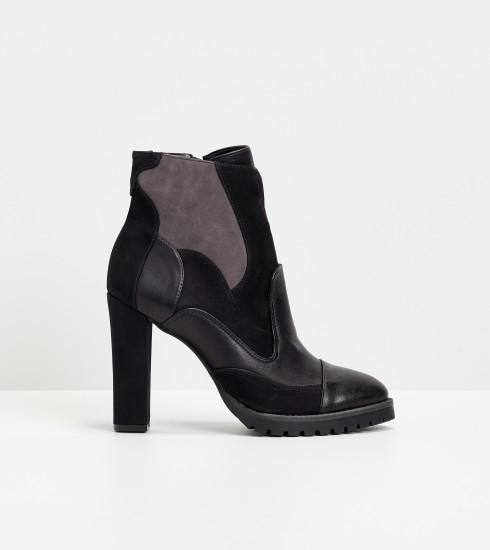 Crush of the Day: la boots multi-matières de Cecil