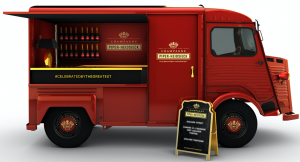 Champagne truck Piper Heidsieck
