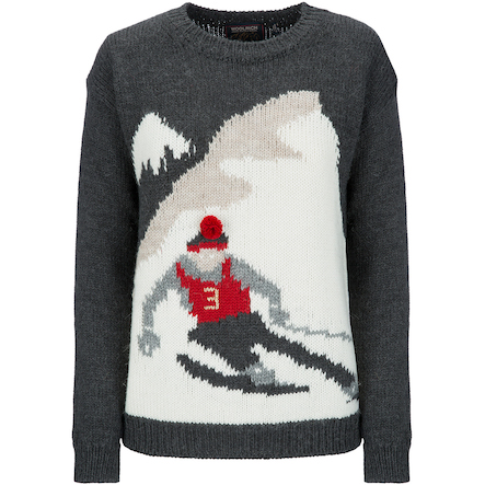Crush of the Day: le pull montagne de Woolrich