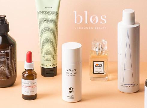 Blos, le nouvel e-shop beauté de Kim Maes