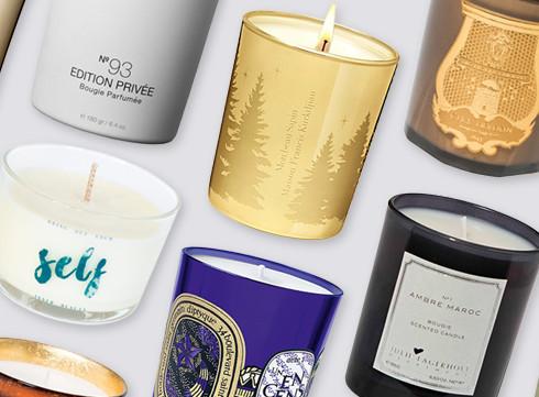 7 bougies parfumées d'exception
