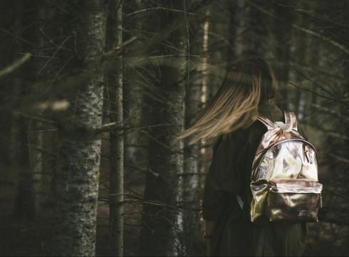Crush of the Day: le sac à dos métallisé d'Eastpak
