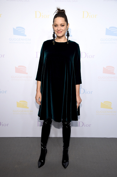 Marion Cotillard 2016 Guggenheim International Pre-Party Made Possible By Dior