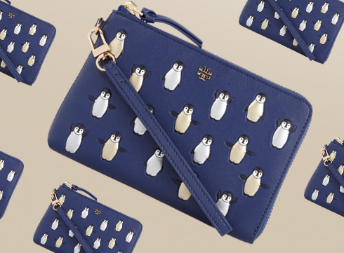 Crush of the Day: le sac pingouins de Tory Burch