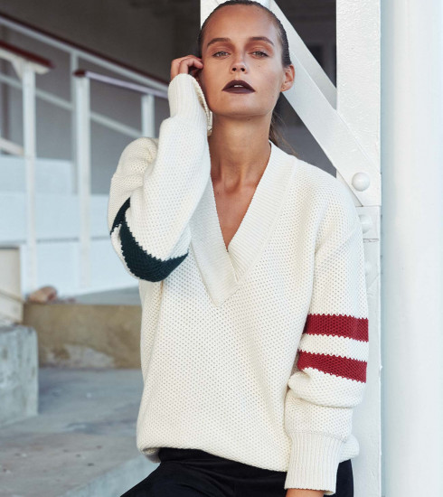 Crush of the Day: le pull Punctualist de Valentine Witmeur lab