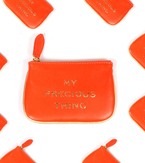 Crush of the Day: le clutch mandarine VII by Cécile De Jaegher