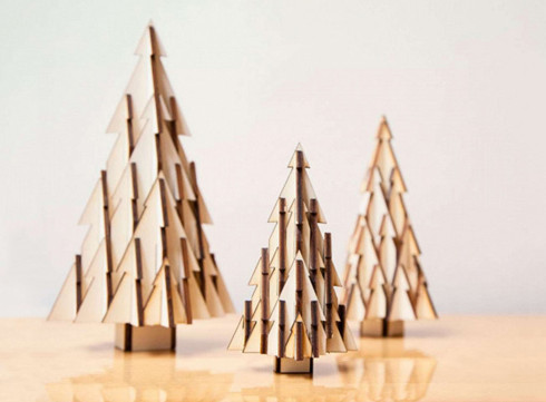 Crush of the Day: le set d'arbres de Noël par studio Boon