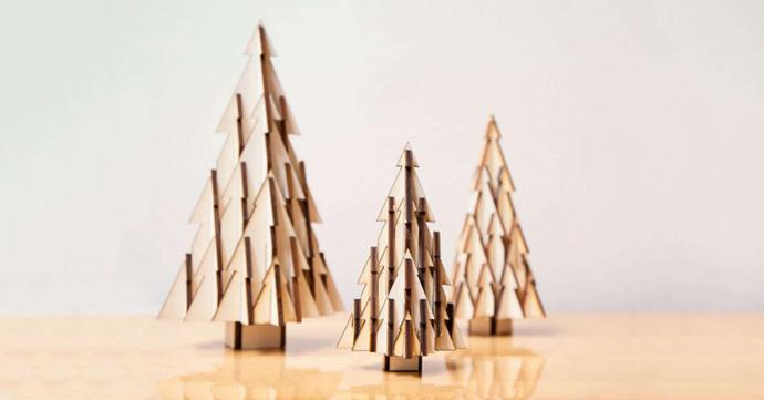 Crush of the Day: le set d'arbres de Noël par studio Boon