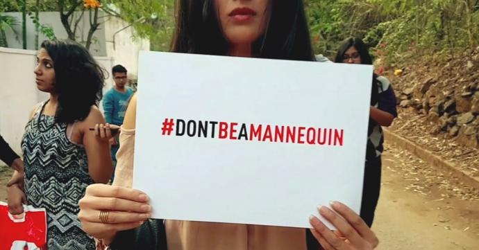 #DontBeAMannequin: la vidéo qui dénonce les violences faites aux femmes
