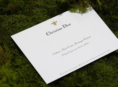 Suivez le défilé Printemps/Eté 2017 de Christian Dior en live