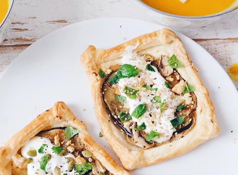 Tartelettes d'aubergine par Marie Gourmandise