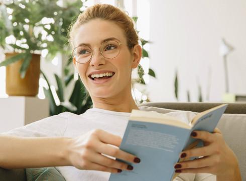 Rire… avec un livre!
