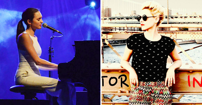Une voix, deux talents