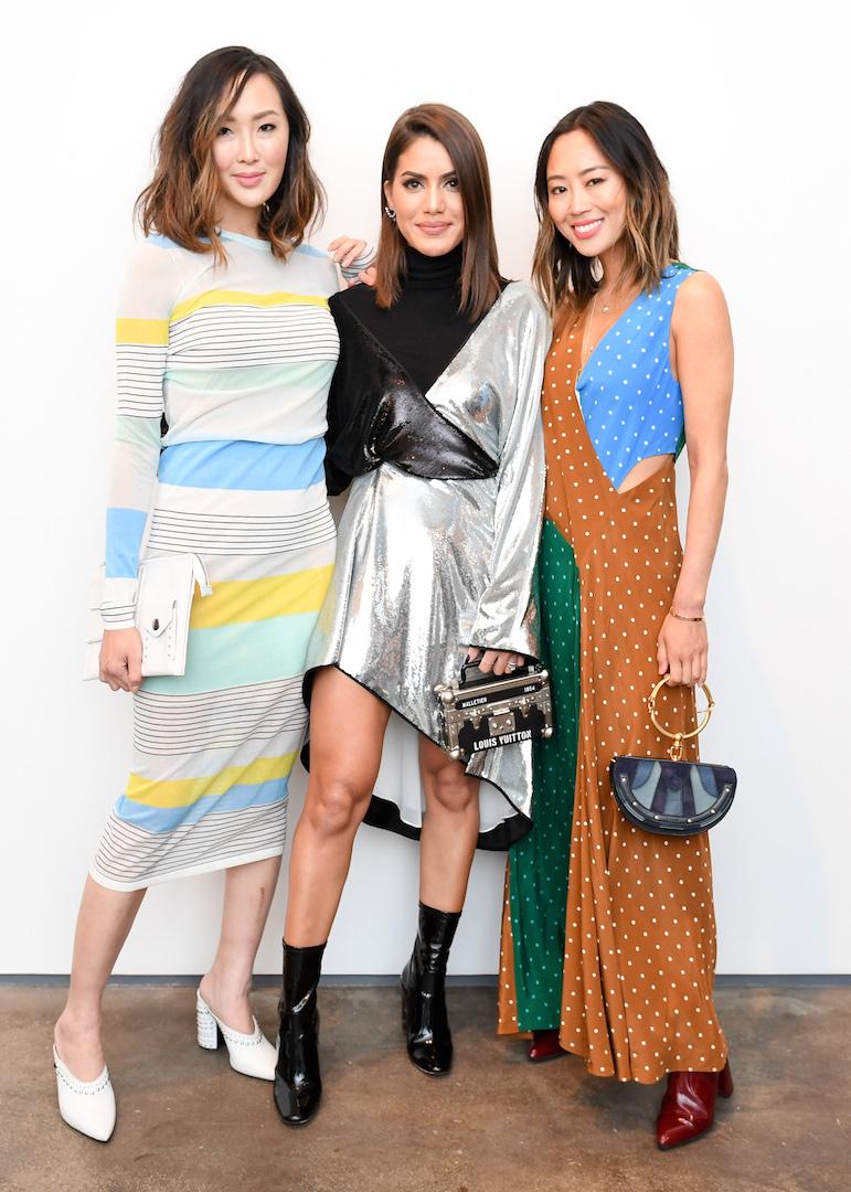 Chriselle Lim, Camila Coelho, Aimee Song