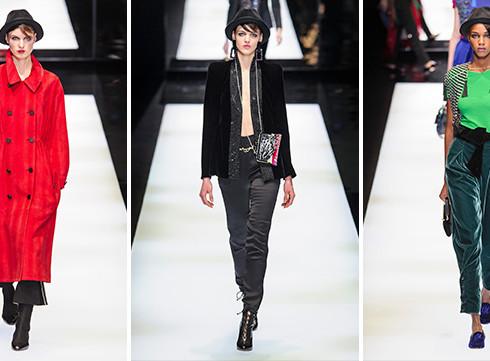 Fashion Week de Milan: le défilé Giorgio Armani