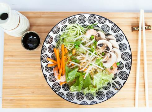 Bouillon de légumes Thaï par Marie Gourmandise