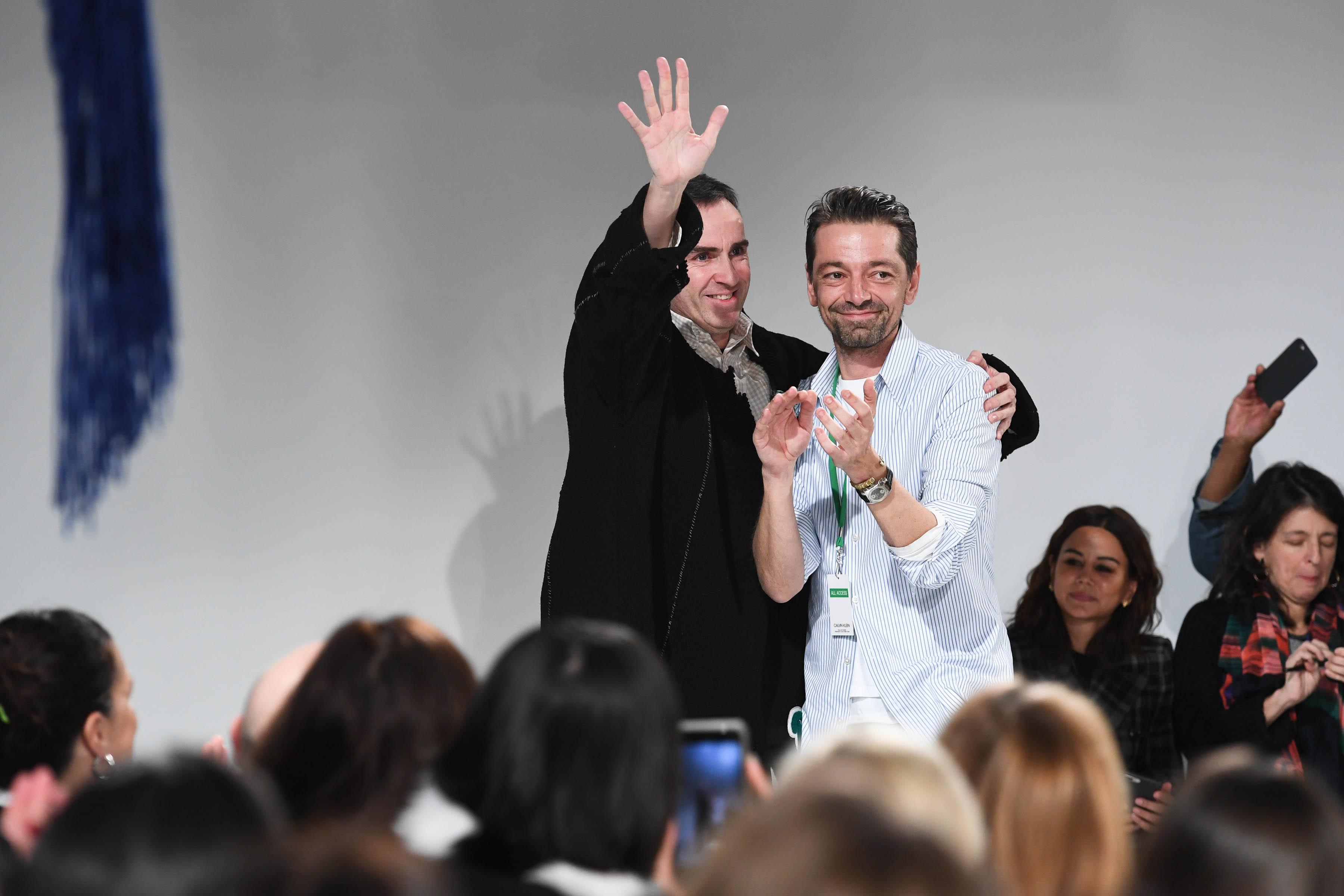 Raf Simons et Pieter Mulier