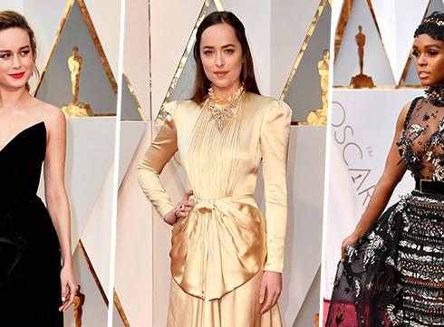 Les robes les plus remarquées des Oscars