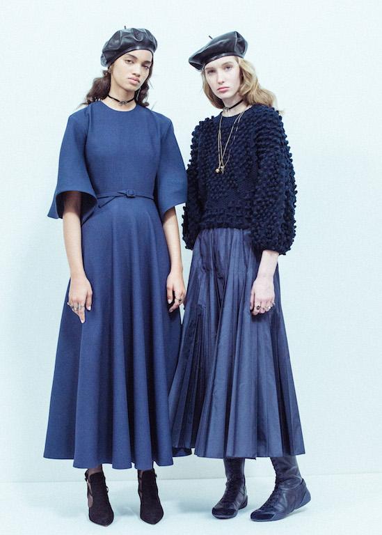 Les coulisses du défilé Dior prêt-   à-   porter AH17/18 - 1